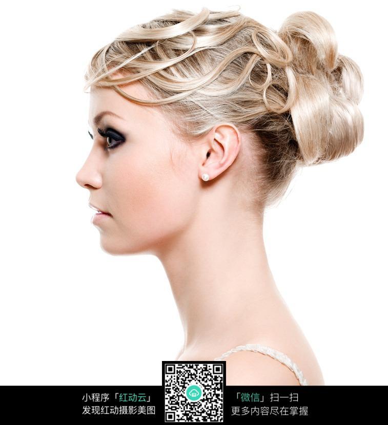 美女气质发型高清图片