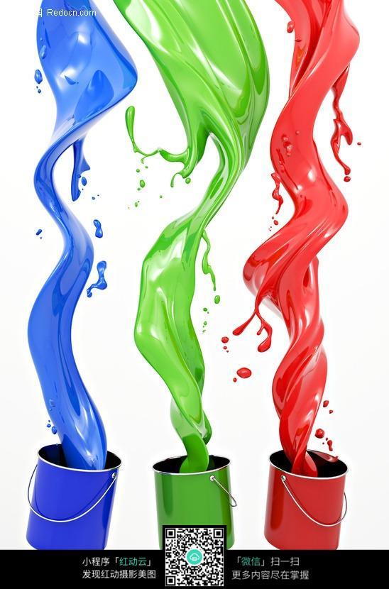 三桶油漆 涂料桶