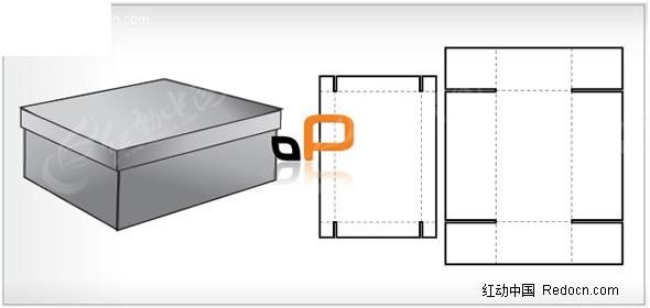 包装结构图尺寸