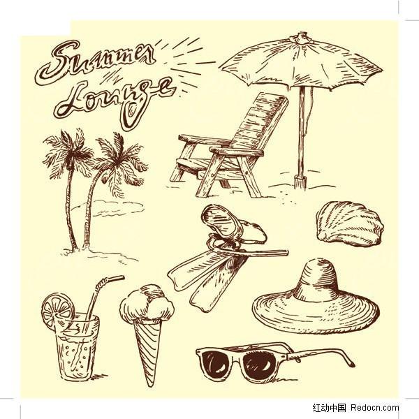 手绘图01(夏日)