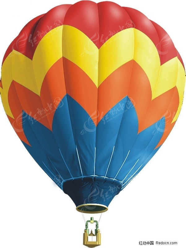 热图-热气球矢量图 交通工具图片