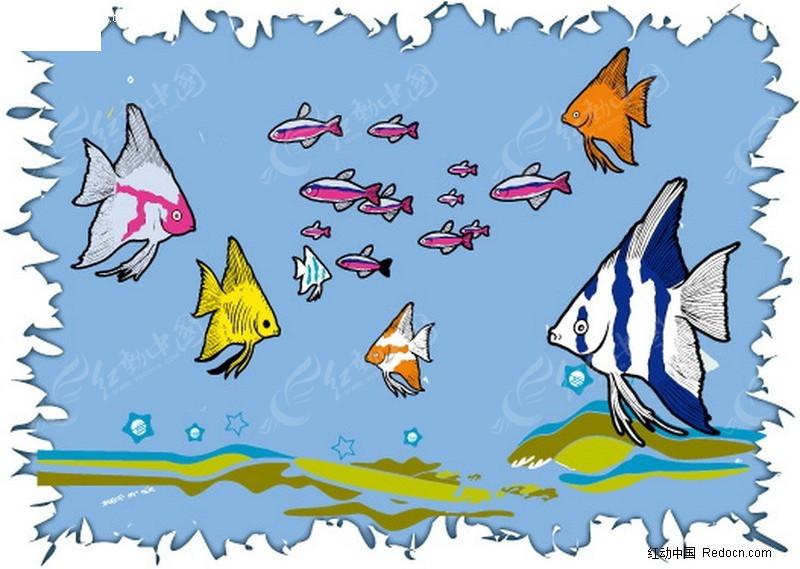 海底世界ai素材免费下载_红动网