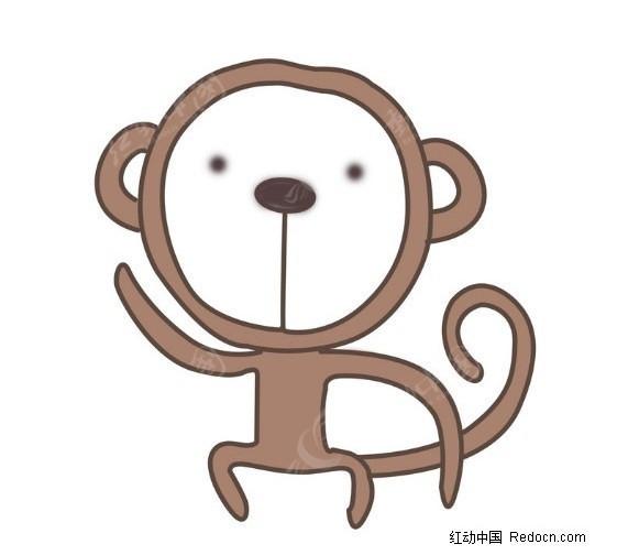 卡通猴子_卡通人物