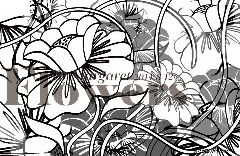 花草树木铅笔画简单图片 画花草树木的简易图,简单容易画的