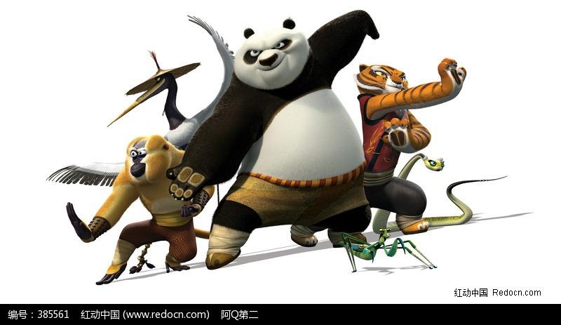 功夫熊猫人物图片_人物卡通图片