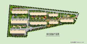居住区规划平面彩图