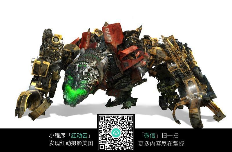 霸天虎 大力神 变形金刚 汽车人 机器人 人物素材 摄影图片高清图片
