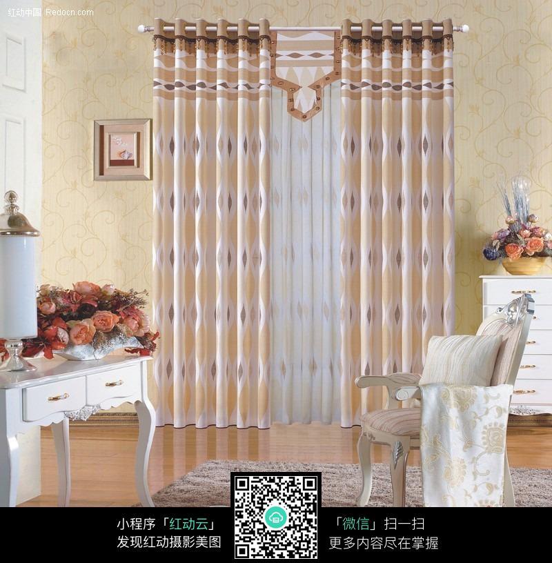 欧式风格 室内 窗帘设计