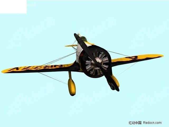 飞机3dmax免费下载_军事武器素材