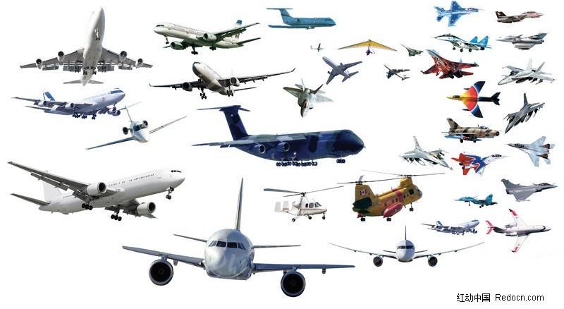 飞机图片素材_其他