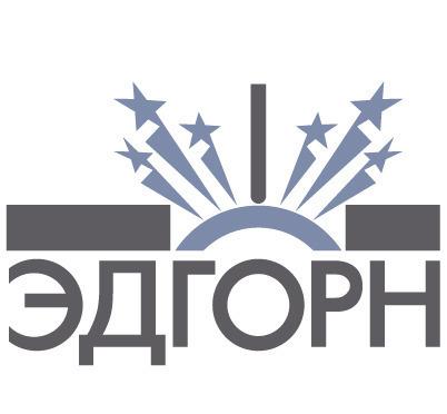 星星图案英文字母logo设计