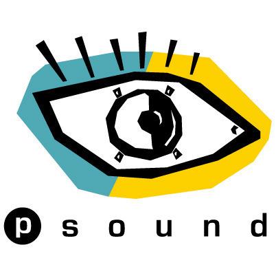 眼睛图案英文字母logo设计