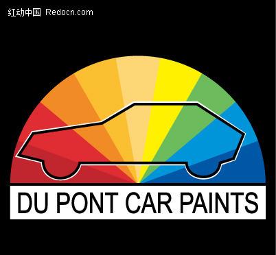 免费素材 矢量素材 标志|图标 行业标志 汽车图案英文字母logo设计