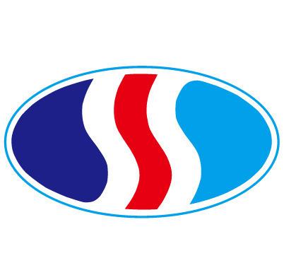 红白蓝-国际性公司矢量logo