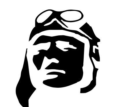 人头像图案英文字母logo设计图片
