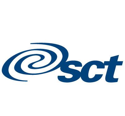 sct图案英文字母logo设计