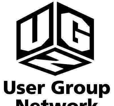 ugn图案英文字母logo设计图片