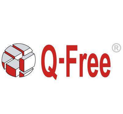 q-free图案英文字母logo设计图片