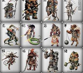 12生肖游戏人物设计