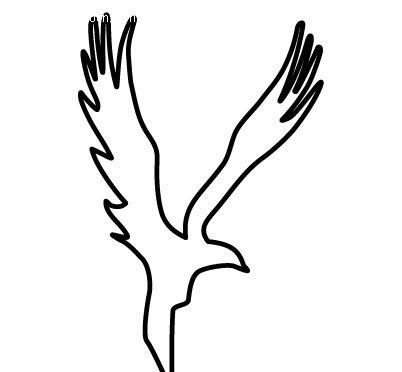 老鹰标识设计EPS素材免费下载 编号428801 红动网