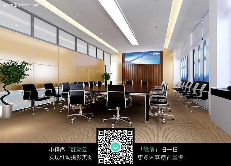 办公室室内设计效果图室内设计就业的英语论文图片