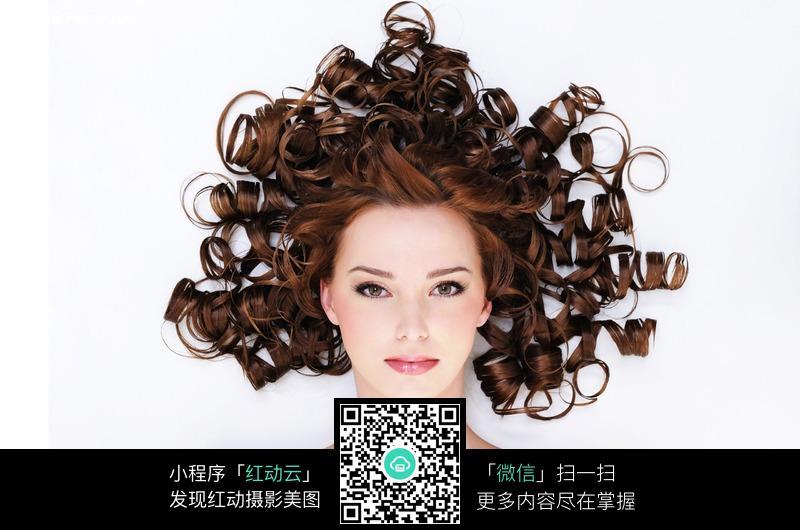 大波浪发型美女图片 人物图片素材|图片库|图库