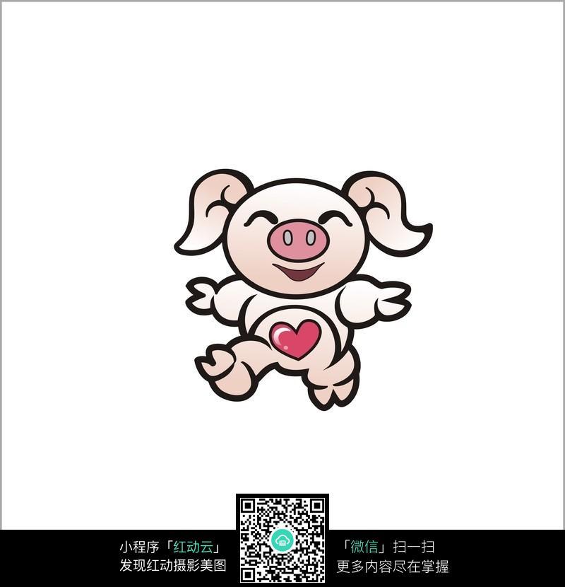 猪的材料设计图案
