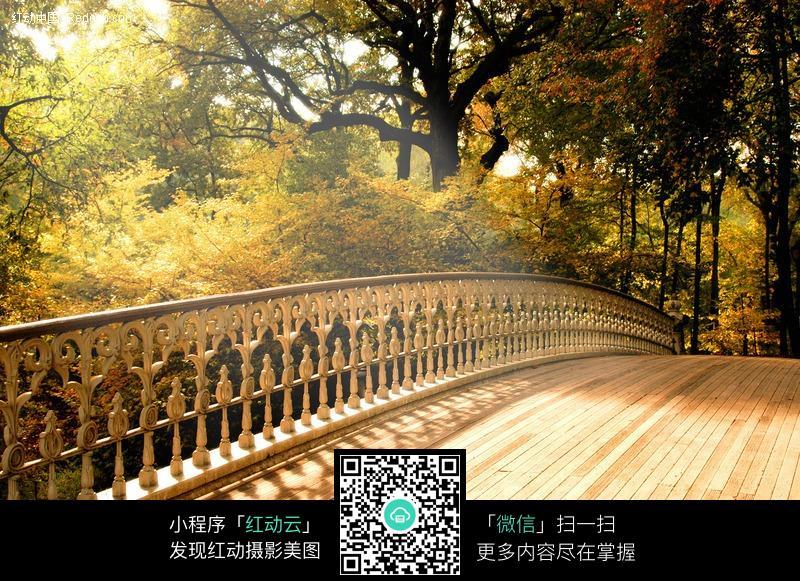 走廊 数目 西式 自然风光 意境 梦幻 风景图片 摄影图片