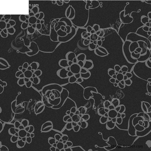 黑花_材质贴图
