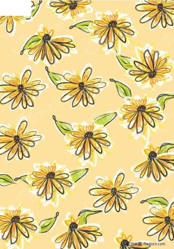 免费素材 psd素材 psd花纹边框 印花图案 炫彩花朵背景  请您分享: 素