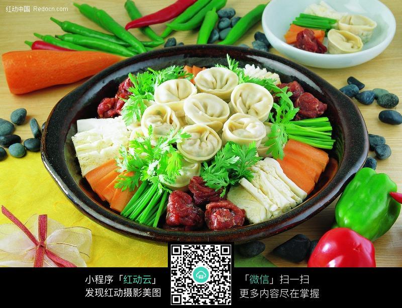 高清火锅菜品图片素材