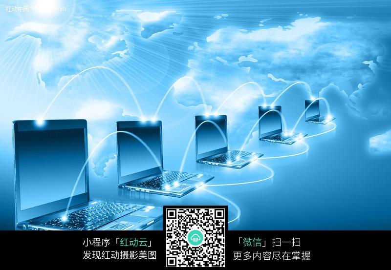电子科技传输图片素材