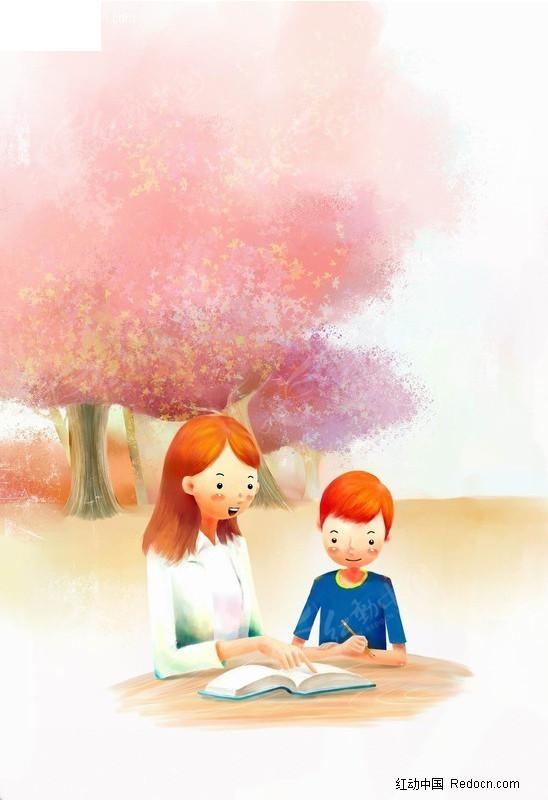 教幼儿画简单的图画