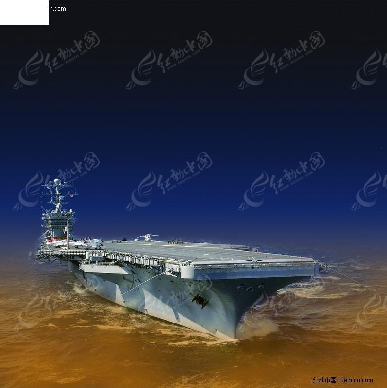 航空母舰海报
