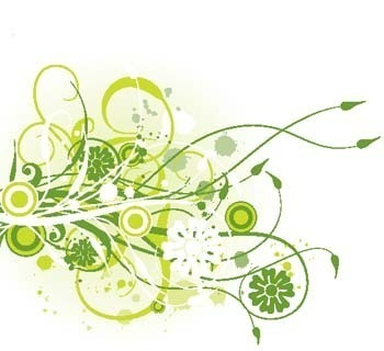 植物花纹素材