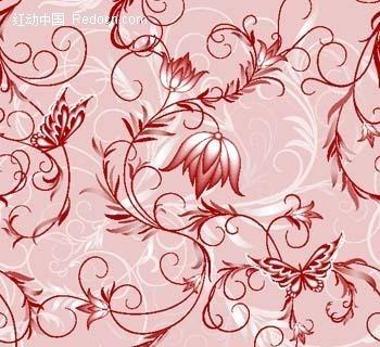 植物藤蔓纹样