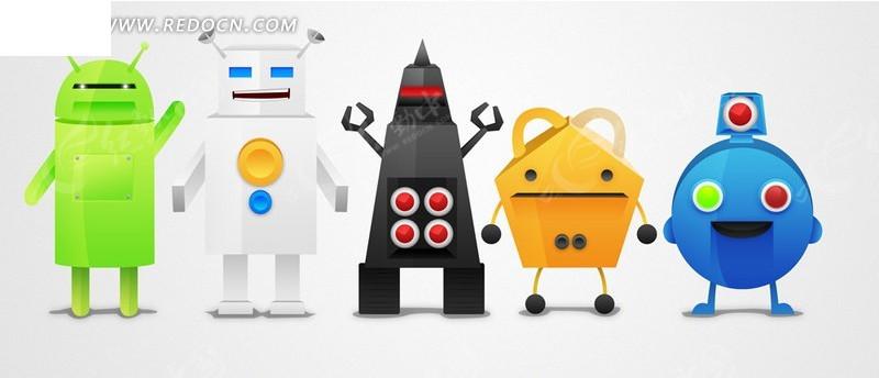 机器人素材_人物|卡通|表情