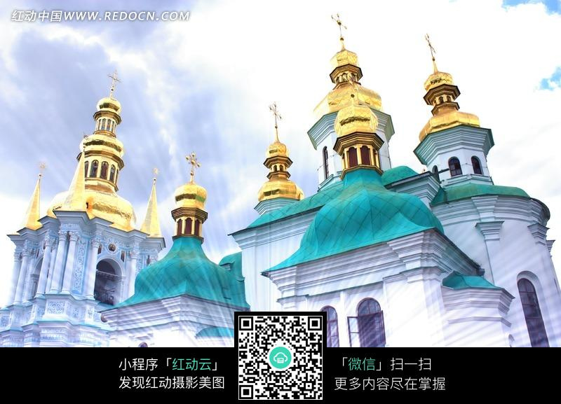 欧式教堂建筑图片