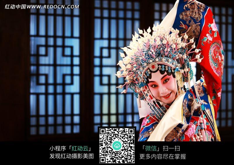 京剧戏曲人物-花旦