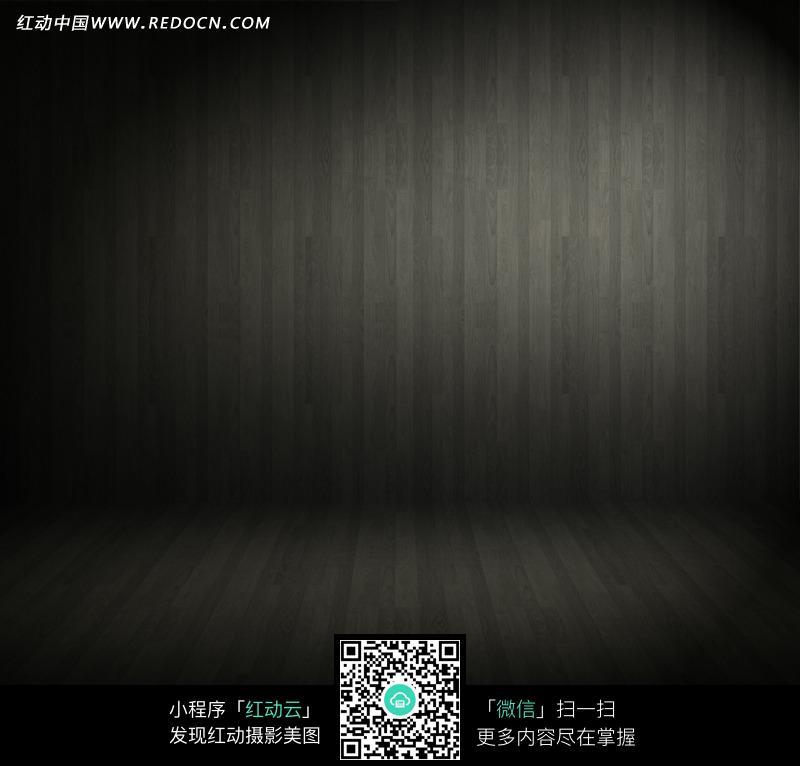 免费素材 图片素材 背景花边 底纹背景 朦胧灯光下的黑色墙面地板