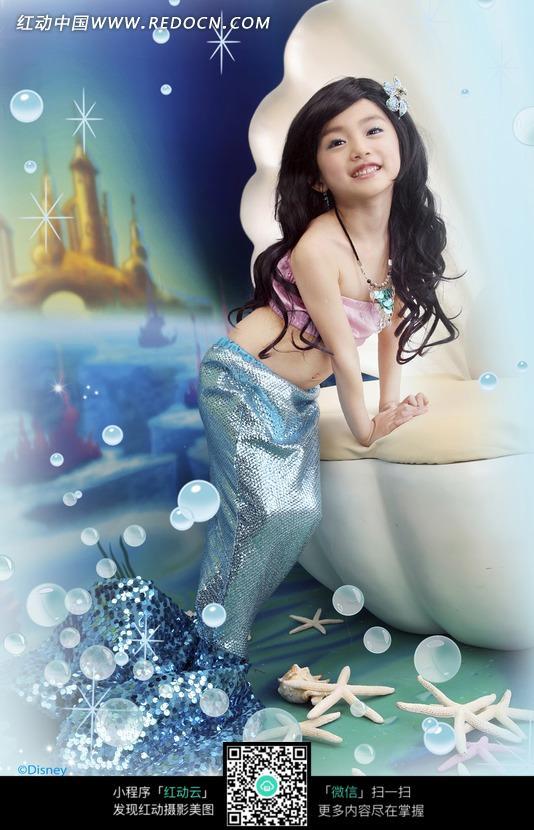 儿童主题写真-美人鱼