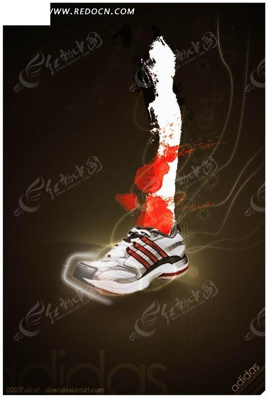 阿迪达斯 adidas?广告款?霍华德男子篮球鞋g20732   新款