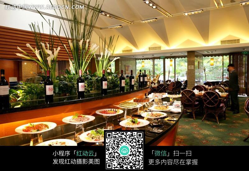 里酒店_酒店里美食自助餐jpg图片素材