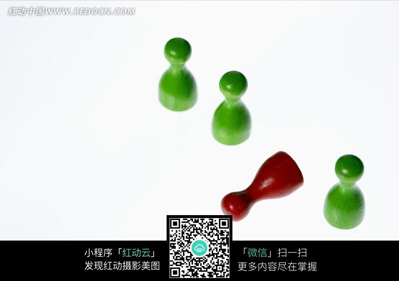 跳棋创意素材图片_现代商务图片