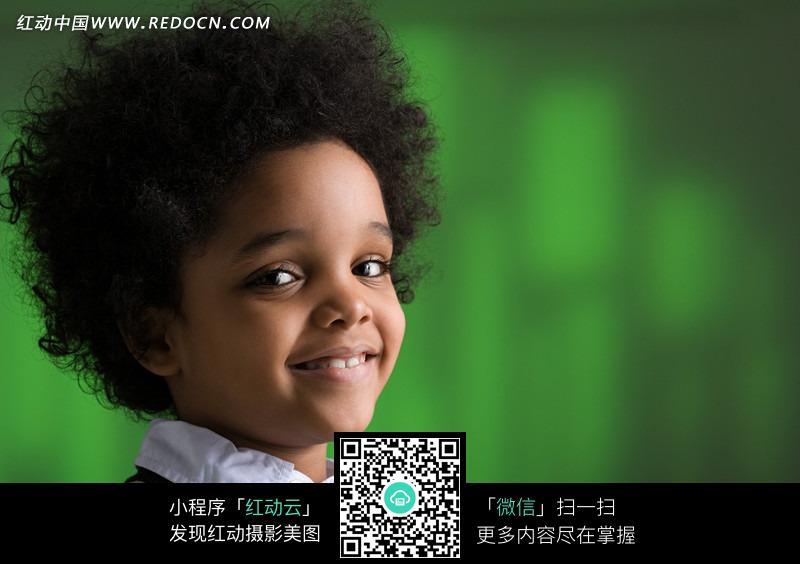 留着爆炸发型的小孩图片_儿童幼儿图片