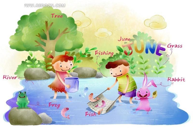 june教学绘本_卡通人物