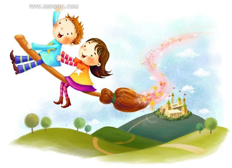 卡通人物 动漫 插画 儿童生活 儿童 小孩 韩国 人物 手绘 可爱 卡通