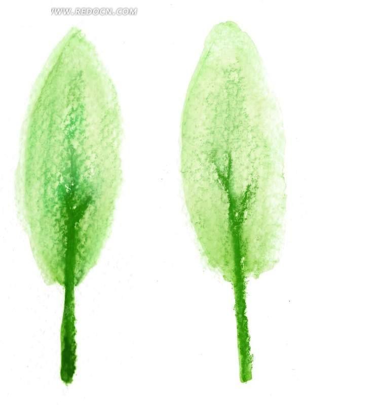 彩铅手绘树木图片