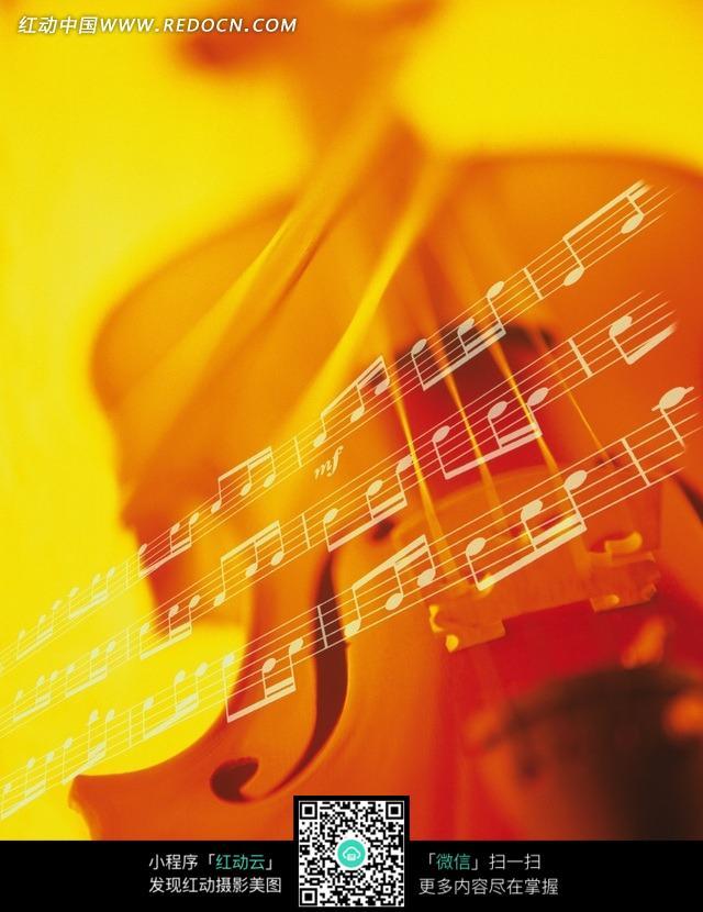 小提琴和乐谱图片免费下载 编号557331 红动网