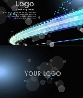创意名片设计模版